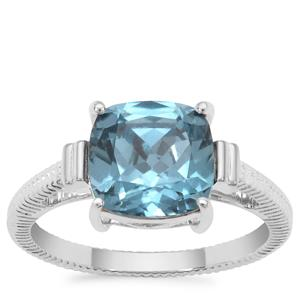 Versailles Topaz Ring in Sterling Silver 3.69cts