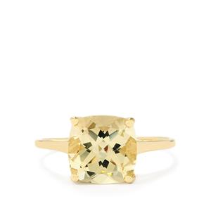 Serenite Ring  in 10k Gold 2.76cts