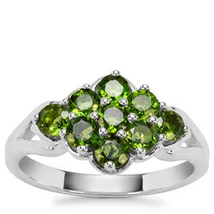 Chrome Diopside Ring in Sterling Silver 1.15cts
