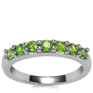 Chrome Diopside Ring in Sterling Silver 0.71ct