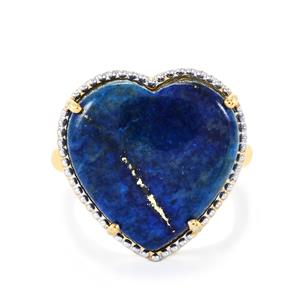 15.24ct Sar-i-Sang Lapis Lazuli Midas Ring