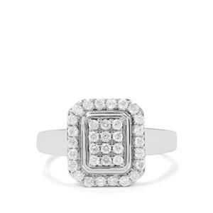 1/2ct Canadian Diamond 9K White Gold Tomas Rae Ring