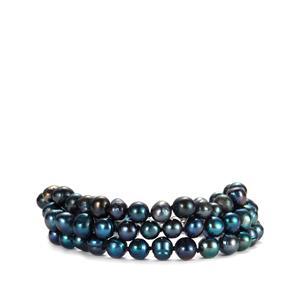 Kaori Cultured Pearl Bracelet in Sterling Silver