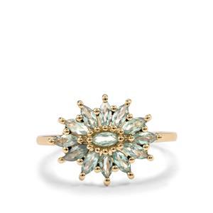 0.71ct Alexandrite 10K Gold Ring