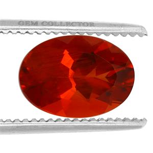 Tarocco Red Andesine GC loose stone  4.00cts