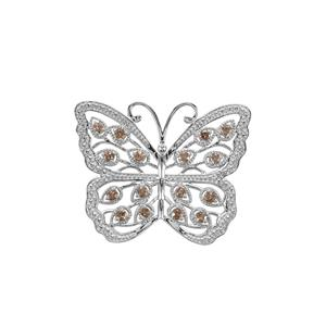 1.70ct Tsivory Colour Change Garnet Sterling Silver Pendant