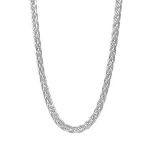 """24"""" Sterling Silver Wheat Chain 5.50g"""