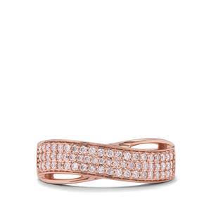 1/3ct Pink Diamond 18K Rose Gold Tomas Rae Ring