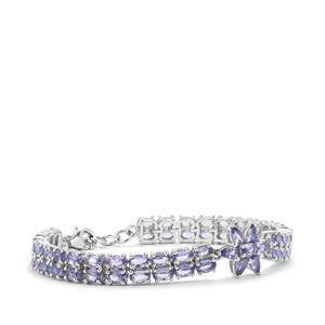 Tanzanite Bracelet in Sterling Silver 15.08cts