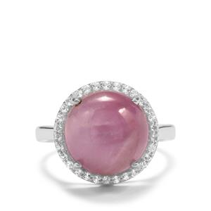 Nilaw Kunzite & White Topaz Sterling Silver Aryonna Ring ATGW 8.59cts