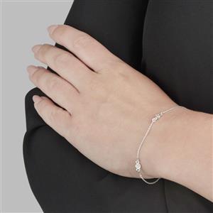 Diamond Bracelet in Sterling Silver 1/4ct