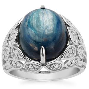 10.62ct Daha Kyanite Sterling Silver Ring