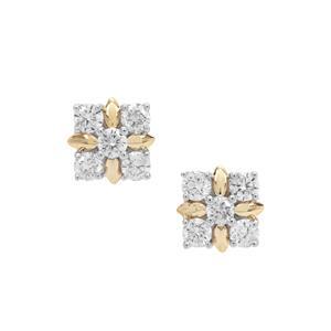 Argyle Diamond Earrings in 9K Gold 0.51ct