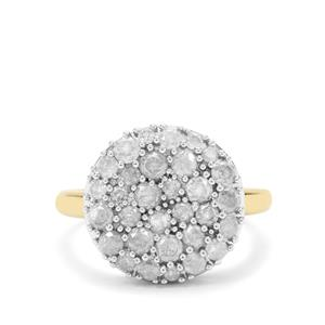 Diamond Ring in 9K Gold 1.50cts