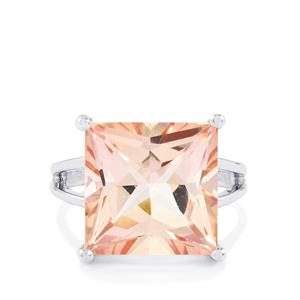 12.41ct Galileia Topaz Sterling Silver Ring