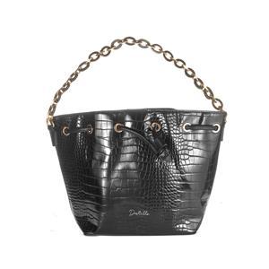 Destello Vegan Leather Mock Croc Bucket Bag - Available in 3 Colours