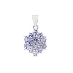 Tanzanite Pendant in Sterling Silver 2.45cts