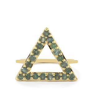 0.86ct Orissa Alexandrite 9K Gold Ring