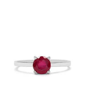 1.28ct Sterling Silver Ring (F)