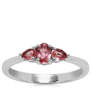Kaffe Tourmaline Ring in Sterling Silver 0.53ct