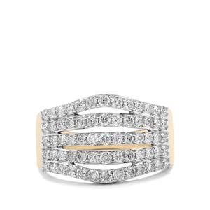 1ct Argyle Diamond 10K Gold Tomas Rae Ring