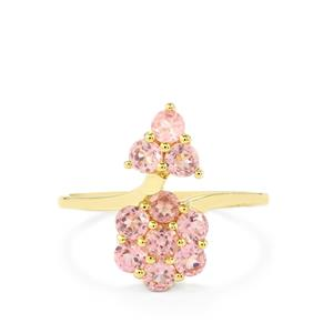 1.29ct Pink Spinel 9K Gold Ring