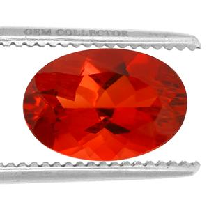 Tarocco Red Andesine GC loose stone  2.00cts