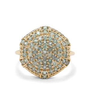 1.22ct Alexandrite 9K Gold Ring
