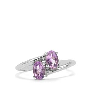 0.82ct Moroccan Amethyst Sterling Silver Ring