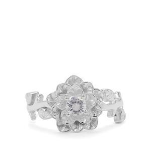 0.25ct Ratanakiri Zircon Sterling Silver Forever Ring