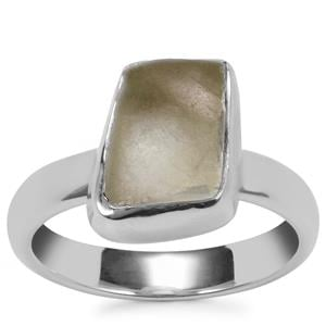 White Topaz Ring in Sterling Silver 5.64cts