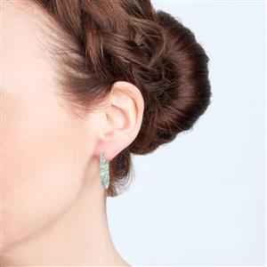 Nuagaon Kyanite Earrings in Sterling Silver 5.27cts
