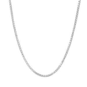 """18"""" Sterling Silver Couture Venetian Chain 1.66g"""