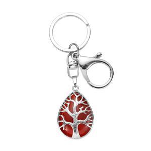 22.65ct Carnelian Tree of Life Key fob
