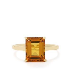3.25ct Marialite 10K Gold Ring