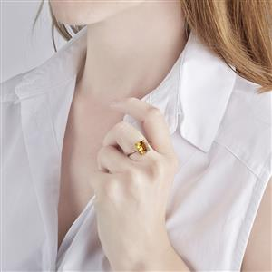 Marialite Ring in 10k Gold 3.25cts