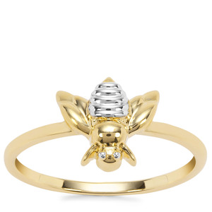 Butterfly Ring in 9K Gold