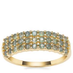 Alexandrite Ring in 9K Gold 0.79ct