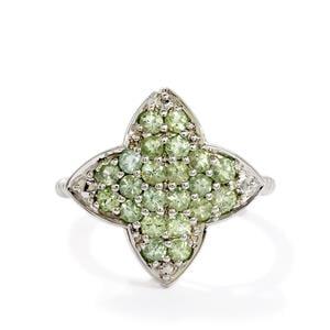 0.89ct Lemanja Amblygonite Sterling Silver Ring