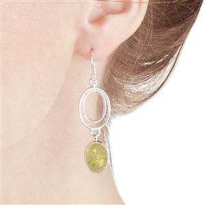 12.90ct Rutilite Sterling Silver Aryonna Earrings