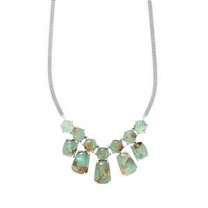 Aquaprase™ Necklace in Sterling Silver 55.15cts