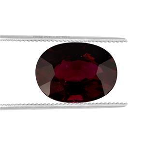 Malawi Garnet GC loose stone  5.30cts