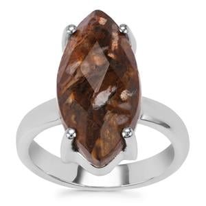 Wild Horse Jasper Ring in Sterling Silver 7.16cts