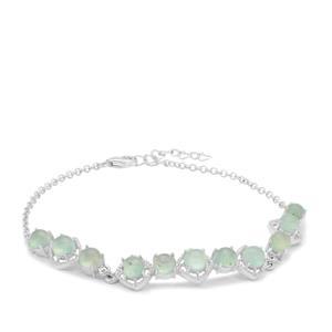 Gem-Jelly™ Aquaprase™ Bracelet in Sterling Silver 5.61cts