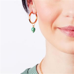 Molte Maxi Hoop Earrings in Gold Plated Silver