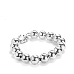 """8"""" Sterling Silver Ball Bracelet 14.8g"""