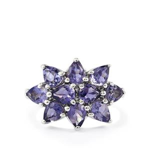 2.44ct Bengal Iolite Sterling Silver Ring