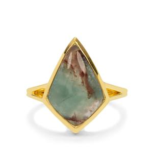 Aquaprase™ Ring with Aquaiba™ Beryl in Sterling Silver 7.10cts
