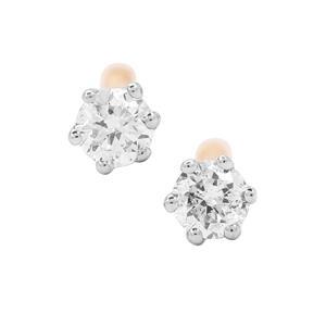 1/20ct Diamond 18K Gold Tomas Rae Earrings