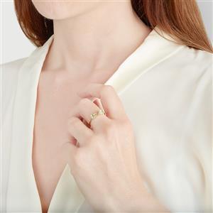Merelani Mint Garnet Ring in 9K Gold 1ct